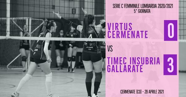 LOM-Cf: 5^ Virtus Cermenate - Timec Insubria Gallarate