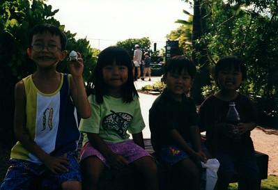Hawaii Sydney birthday 1999