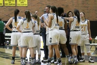 2015-2016 Gilbert Girls Basketball vs Horizon 1-25-16