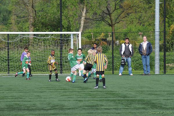 Frisia F4 - Zeerobben F2 (4-0)