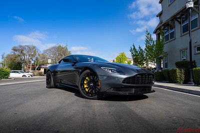 Aston Martin DB11 - Front End PPF and Ceramic Coating
