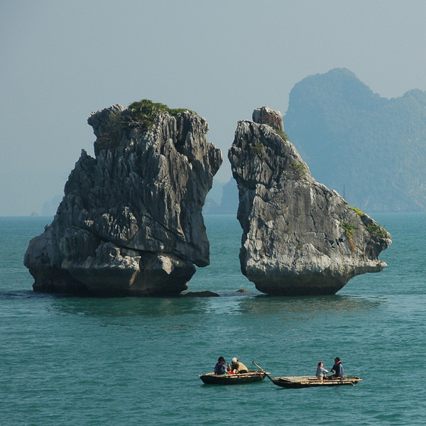 Limestone Dragons - Halong Bay, Vietnam