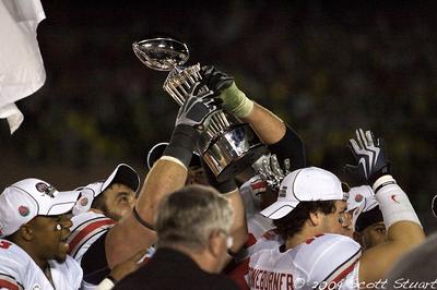 96th Rose Bowl OSU vs Oregon
