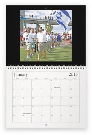 Seth Mahler - Israel Lacrosse - 2015 Customized Calendar