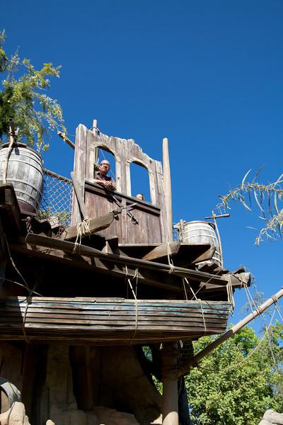 Highest point on Tom Sawyer's Island