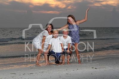 Anna Maria Family Sunset