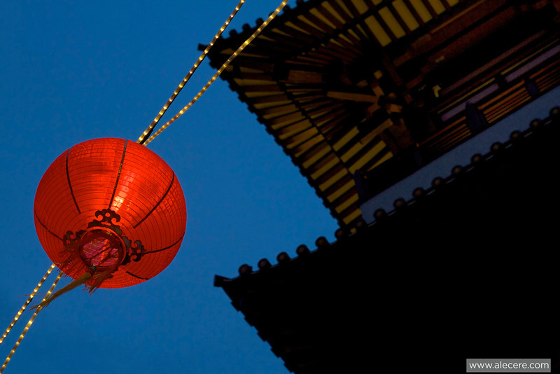 New year is coming. Again. - Decoration for the Lunar new year in Chinatown, Singapore