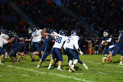 OE soph. Football Vs Oswego 2019