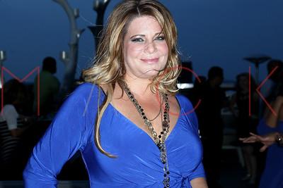 NEW YORK, NY - SEPTEMBER 11:  Tresses By Karen Gravano Launch Event during Retro Wednesdays at XVI Rooftop Lounge on September 11, 2013 in New York City.