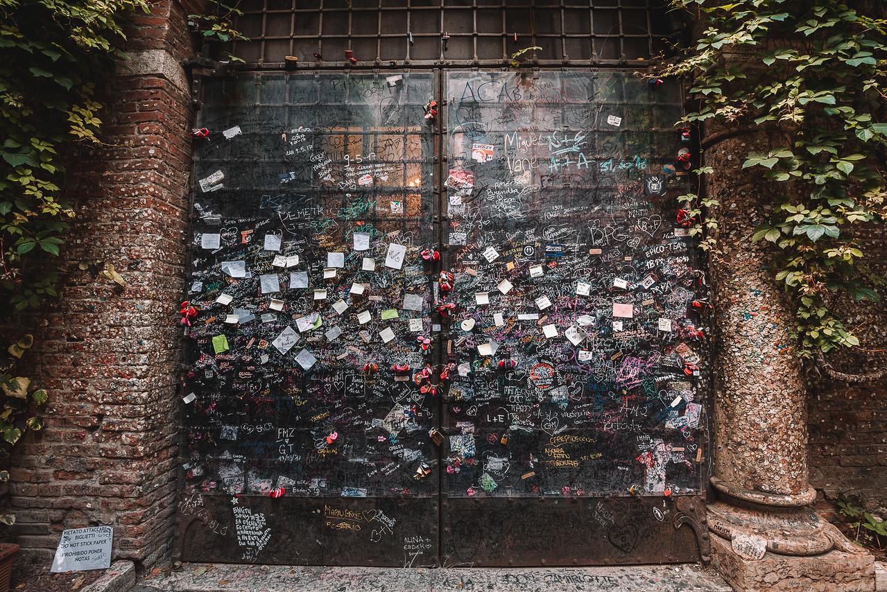 到義大利攝影 維洛納 茱麗葉的家 Verona Juliet's House (Casa di Giulietta) by Wilhelm Chang 張威廉