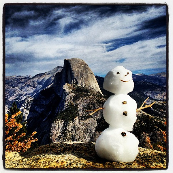 SEEING YOSEMITE WITH IPHONE AND ISTAGRAM