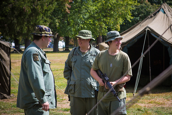 Fort Mott Historic Soldier Weekend 2013