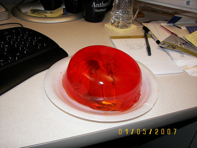 Chris Brown's Jell-O Mouse