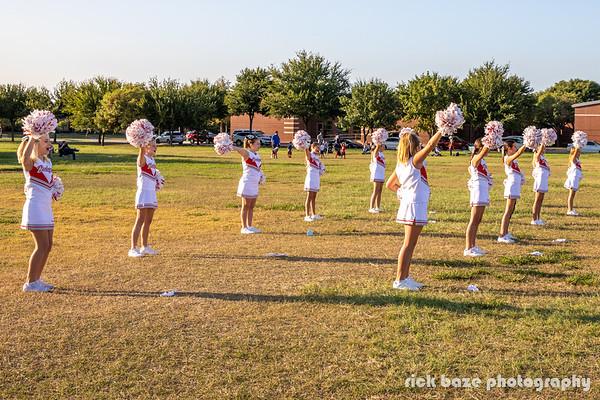2020.09.24 Badgers Cheerleader Jersey Presentation