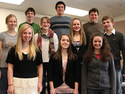 High School - Solo & Ensemble winners 1-31-12