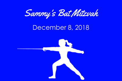 Sammy's Bat Mitzvah