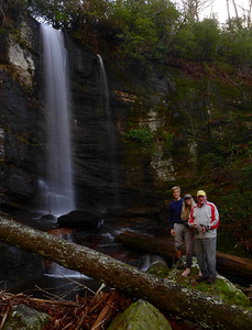 Waterfall on a tributary of Silver Run Creek
