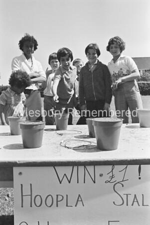 Grange School fete, June 1977