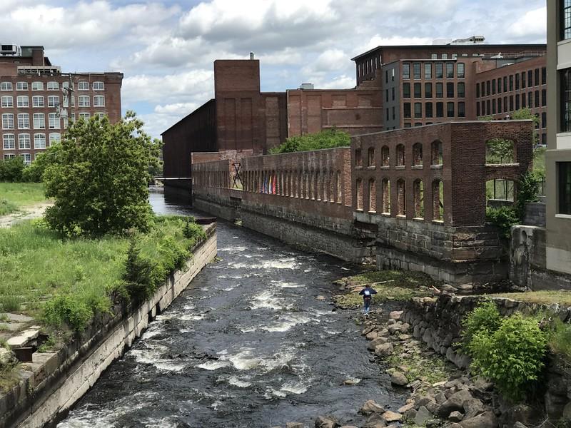 along Hamilton Canal ~ Lowell, MA