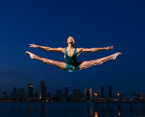San Diego Ballet Dancers