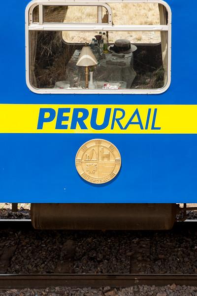 Train from Cusco to Puno