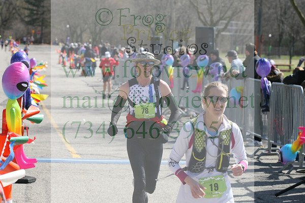 Martian Invasion of Races 13 Apr 2019 Finish  11:03-11:37am