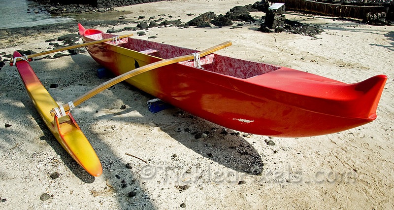 Outrigger on the Beach at Kona