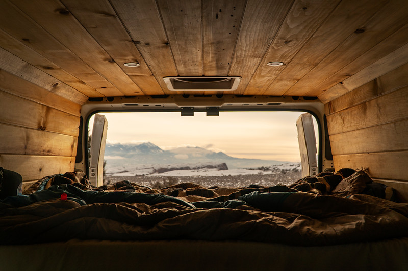 Dave and Matt vans by Calvin Weibel