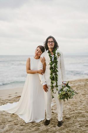 Claudia and Jae // Four Seasons Hualalai