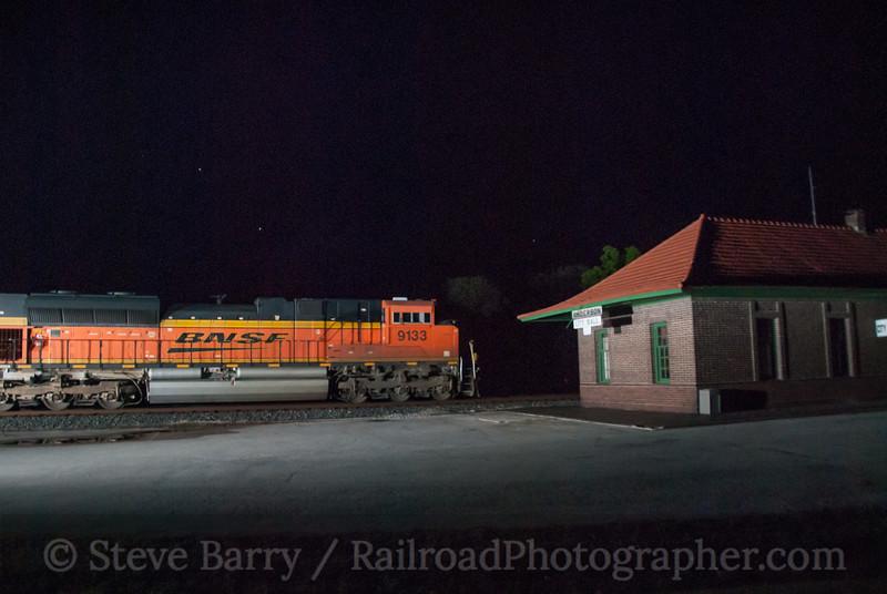 BNSF Railway (on KCS)<br /> Anderson, Missouri<br /> June 15, 2014
