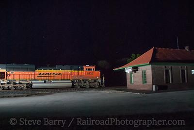 BNSF Railway (on KCS) Anderson, Missouri June 15, 2014