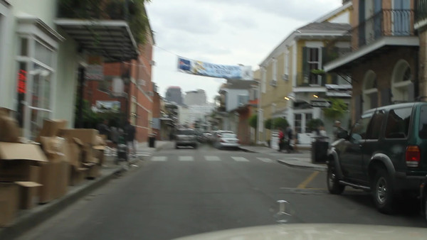 DRIVING HISTORIC FQ STREETS