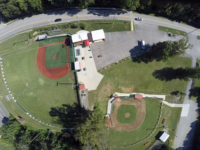 Highland Baseball Park overhead photos