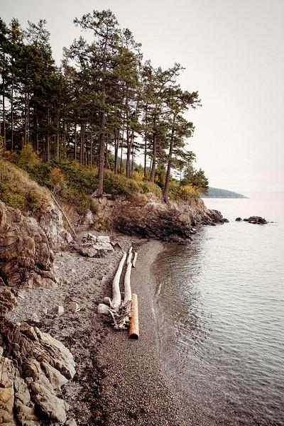 Beach at Washington Park, Anacortes, Washington