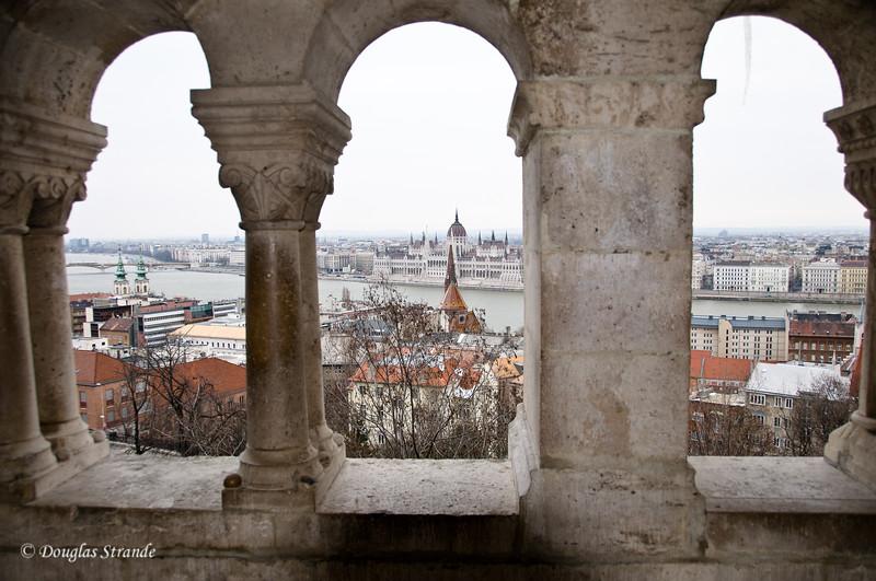 Budapest overlook