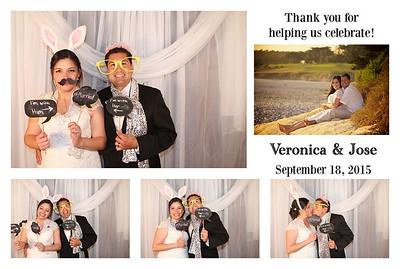 Veronica & Jose's Wedding PhotoBooth