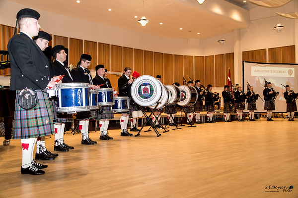 Sønderborg Pipes and Drums 09.01.16