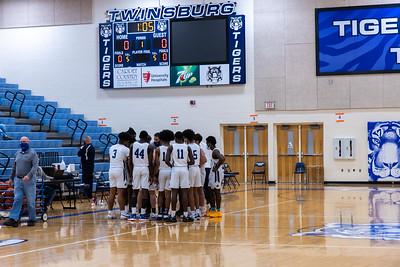 2021-01-15 -- Twinsburg vs North Royalton High School Varsity Boys Basketball