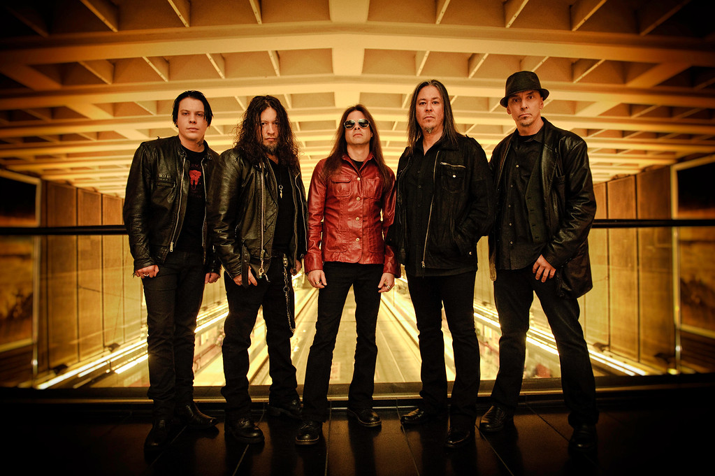 . Queensryche, featuring original members Michael Wilton, Eddie Jackson, Scott Rockenfield and new singer Todd La Torre, and released a self-titled album in June 2013. The band, and a second band calling itself Queensryche led by frontman Geoff Tate after a split last fall, are scheduled to go to court in November to determine which band has the right to keep the name. Photo by Mike Savoia.