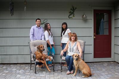 Nadine and Family