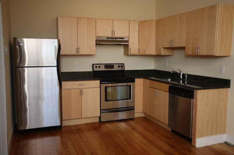 North Dam Mill apartments - Kitchen.