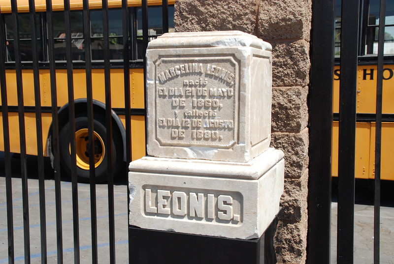 2010, Leonis Tombstone at Cathedral High
