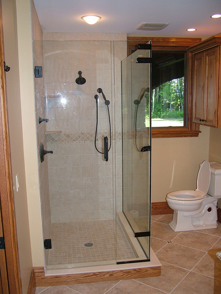 2nd bathroom in lower level (between office and other bedroom