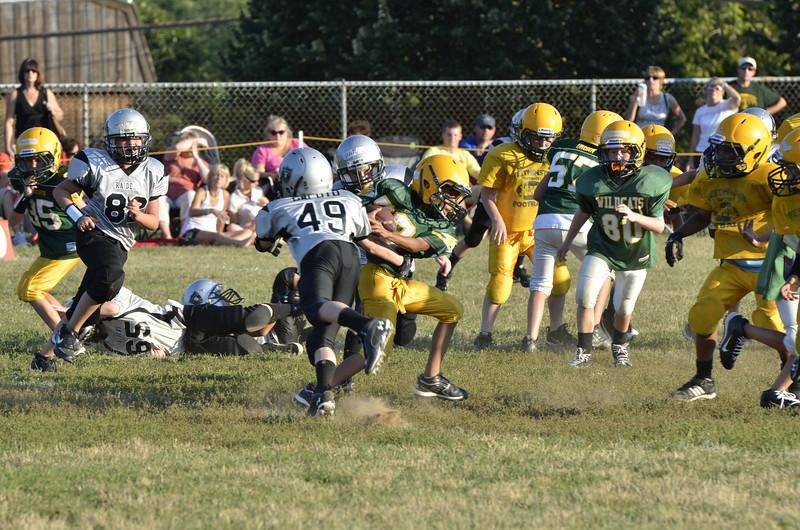 Wildcats vs Raiders Scrimmage 085.JPG