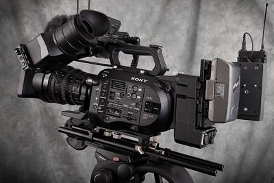 My Sony PXW FS7 eng setup