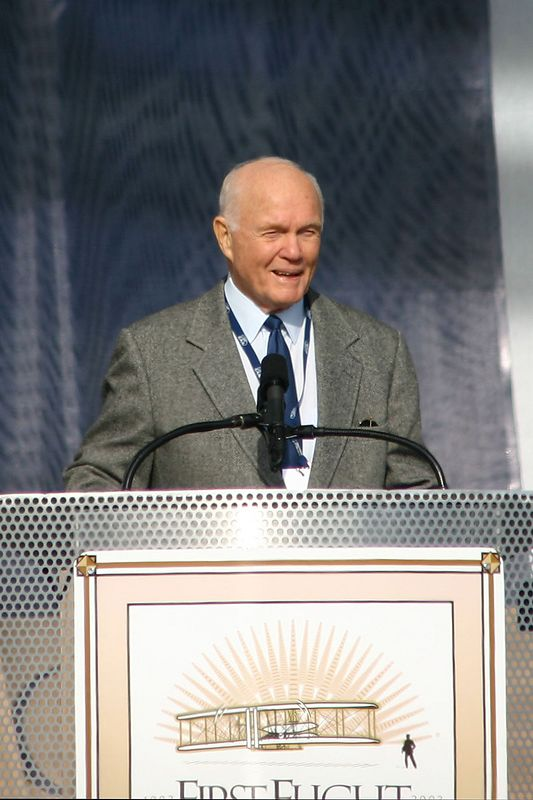 Sen. John Glenn - The First American to Orbit the Earth