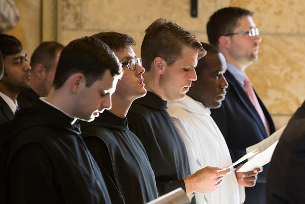 Vespers and Faculty Blessing: Sept. 4