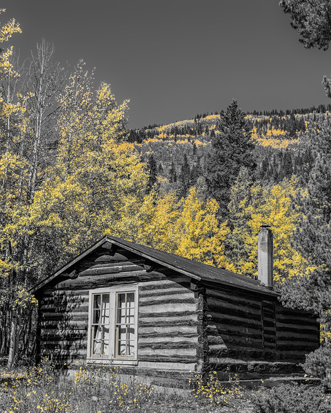 Old Barns and Cabins