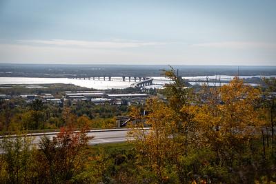 2020 10 05: Skyline Parkway Overlook, West Duluth