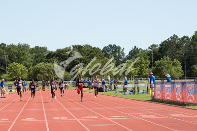 Men's 100m Trials